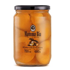 Pêssegos em calda Mamma Bia
