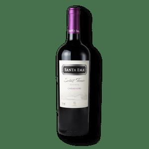 Vinho Santa Ema Select Terroir Reserva Carménère